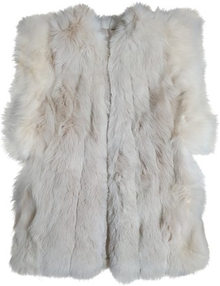 Non Signé / Unsigned Non Signe / Unsigned Oversize Fur Jacket for Women