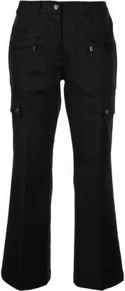 Michael Kors multi-pocket flared trousers