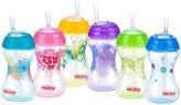 Nuby No-Spill Clik-It Flexi Straw Cup - Designer Series - 10 oz - 2 pk