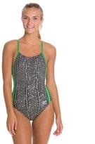 Speedo Endurance + Water Grid Touch Back Training Swimsuit 8114566