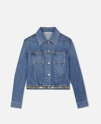 Stella McCartney logo denim jacket