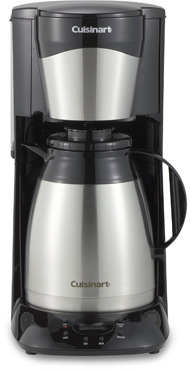 Cuisinart 12-Cup Stainless Steel Thermal Carafe Programmable Coffee Maker
