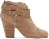 Rag & Bone Camel Suede Harrow Boots