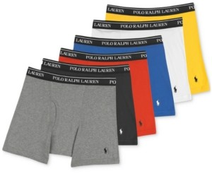 Polo Ralph Lauren Men's P5 +1 Boxer Briefs