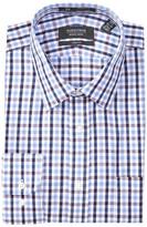 Nordstrom Checkered Trim Fit Dress Shirt
