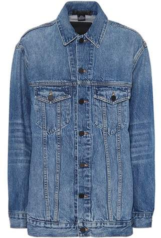 Alexander Wang Oversized denim jacket