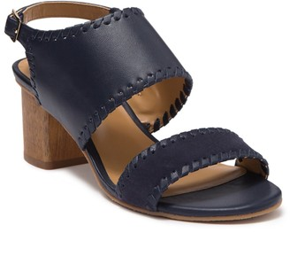 Jack Rogers Sloan Mixed Block Heel Sandal