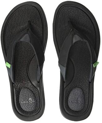 Sanuk Yoga Mat 3 (Black) Women's Sandals