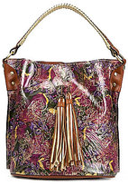 Patricia Nash Metallic Paisley Collection Otavia Bucket Bag