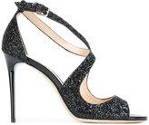 Jimmy Choo glittered Emily sandals