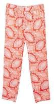 MANGO Paisley print trousers