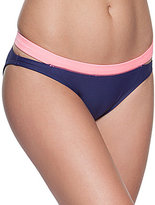 Gossip Color Block Low Rise Hipster Bottom