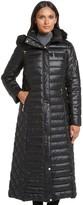 Gallery Full Length Hooded Puffer Coat