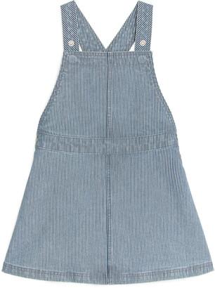 Arket Hickory Stripe Denim Dress