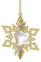 Swarovski Golden Star Ornament