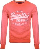 Superdry Premium Goods Crew Neck Jumper Red