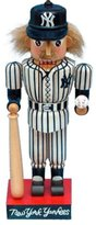 "Kurt Adler 5"" MLB New York Yankees Baseball Player Nutcracker Christmas Ornament"