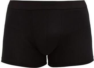 Zimmerli 700 Pureness Stretch Jersey Boxer Briefs - Mens - Black