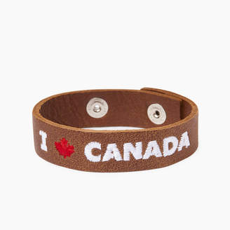 Roots I Love Canada Bracelet