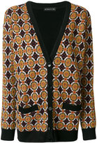 Etro patterned V-neck cardigan
