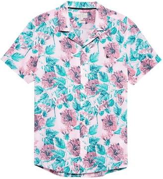 Jack Wills Meadowcroft Floral Print Shirt