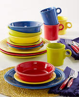 Fiesta Macy's Exclusive! Mixed Bright Colors 16-Piece Set, Service for 4