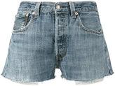 RE/DONE Originals denim short shorts - women - Cotton - 24