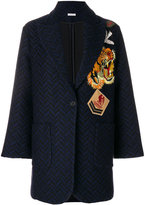P.A.R.O.S.H. embroidered patch coat