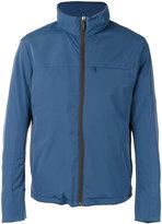 Canali zipped jacket - men - Cotton/Lamb Skin/Polyamide/Wool - 48