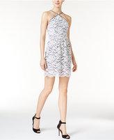 Kensie Lace Halter Dress