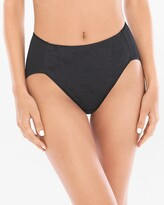 Vanishing Tummy Floral Lace High Leg Brief
