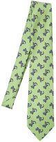 Etro 8cm Salamanders Printed Silk Satin Tie