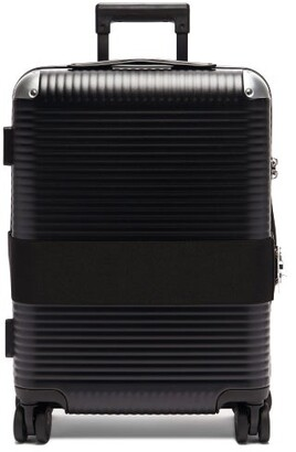 Fabbrica Pelletterie Milano - Bank Spinner 55 Cabin Suitcase - Black