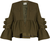 Rachel Comey Frida ruffled cotton-blend jacket