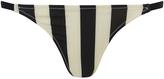 Solid & Striped Women's The Morgan Bikini Bottom Black & Cream