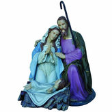 Asstd National Brand 5' Giant Commercial Grade Fiberglass Holy Family Decoration Display