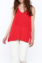 Tcec Red Spaghetti Strap Top
