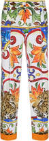 Dolce & Gabbana Maiolica Cropped Pants