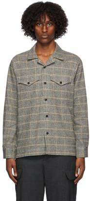 Officine Generale Grey Wool Jonas Shirt
