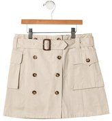 Burberry Girls' Belted Skirt w/ Tags