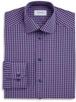 Eton of Sweden Gingham Regular Fit Dress Shirt