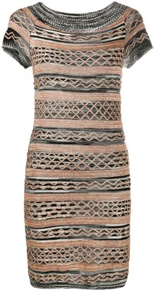 Missoni Short-Sleeved Mini Dress