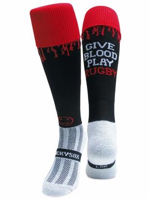 Wackysox Give Blood Play Rugby Sports Socks