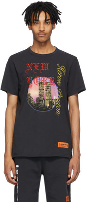 Heron Preston Black NYC Skyline T-Shirt