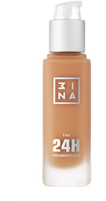 3INA The 24H Foundation 30Ml 654 Sand Beige
