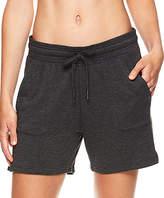 Gaiam Women's Active Shorts CHARCOAL - 5'' Charcoal Heather Warrior Shorts - Women