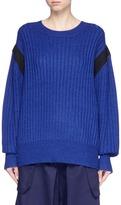 Public School 'Nabil' contrast ribbon oversized sweater