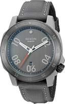 Nixon Men's A9422220-00 Ranger Nylon Analog Display Quartz Grey Watch