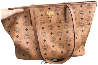MCM Anya Brown Leather Handbags
