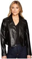 Catherine Malandrino Moto Jacket Women's Coat